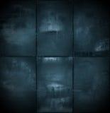 Extra Dark Cyanotype Background Stock Photos