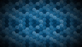 Extra Dark Cyanotype Tiled Background with Spotlight Stock Images