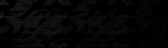 Extra Dark Wide Futuristic Background Site head. 3d illustration vector illustration
