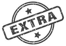 Extra stamp. Extra grunge vintage stamp isolated on white background. extra. sign royalty free illustration