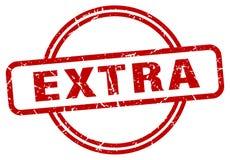 Extra stamp. Extra grunge vintage stamp isolated on white background. extra. sign stock illustration