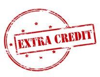 Extra Krediet stock illustratie