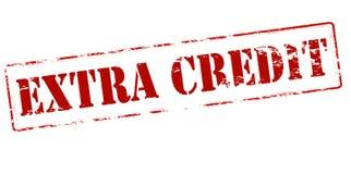 Extra Krediet vector illustratie