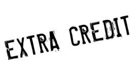 Extra Krediet rubberzegel royalty-vrije illustratie