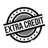 Extra Krediet rubberzegel Royalty-vrije Stock Foto's