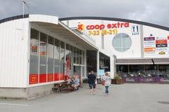Extra lager för Coop Arkivbild
