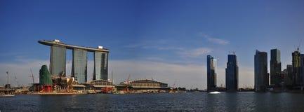 Extra large Paranoma pic of Singapore landscape Royalty Free Stock Images