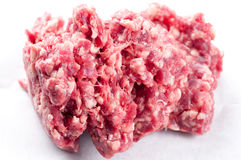 Extra lean ground beef Royalty Free Stock Photos