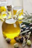 Extra maagdelijke olijfolie royalty-vrije stock foto