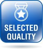 Extra Qualitäts-Netzknopf stock abbildung