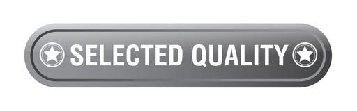 Extra Qualitäts-Netzknopf vektor abbildung
