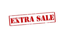 Extra sale royalty free illustration
