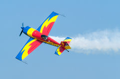 Extra 330SC Acrobatics Royalty Free Stock Photos