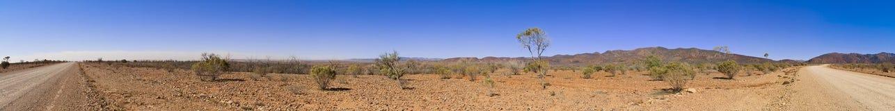 extra stor outbackpanorama royaltyfri fotografi
