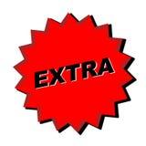 Extra Teken royalty-vrije illustratie