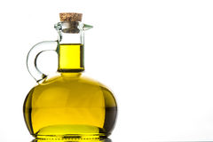 Extra virgin olive oil isolated Royalty Free Stock Photo