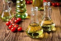 Extra Virgin Olive Oil, Mediterranean rural theme Royalty Free Stock Photo