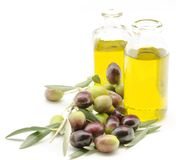 Extra virgin olive oil Royalty Free Stock Photo