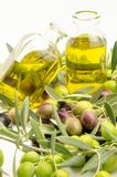 Extra virgin olive oil Stock Image