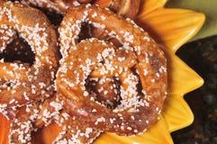 Extra zoute pretzels Royalty-vrije Stock Foto