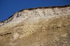 Extracción de la piedra caliza fotografía de archivo