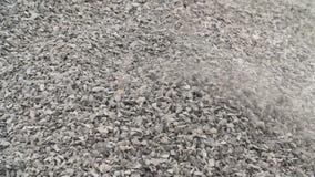 Extracción de la piedra salvaje para procesar en la industria de la tecnología metrajes