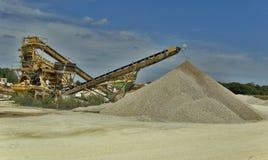Extracción de materias primas Imagen de archivo