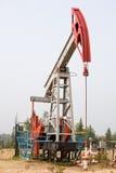 Extracción de petróleo Fotografía de archivo libre de regalías