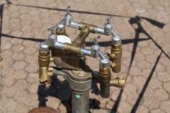 Extracción del agua Imagen de archivo