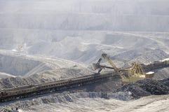 Extracción del mineral Foto de archivo