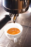 Extract espresso shot Stock Images