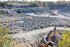 Extract granite Stock Photo