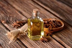Extract of star anise Stock Photos