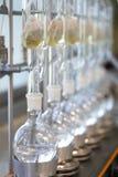 Extracteur de Soxhlet Percolateur-chaudière et reflux Image libre de droits