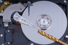 extraction d'entraînement de données dure Images stock