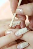 Extraction de cuticle Photos stock