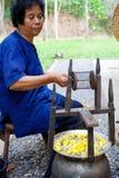 Extraction de l'amorçage en soie Image stock