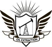 Extraction de l'huile Image stock