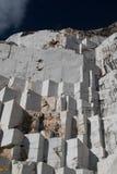 Extraction de marbre Photos stock