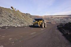 Extraction de minerai de fer Photographie stock