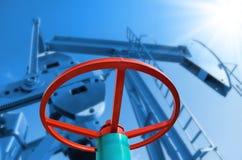 Extraction de pétrole Photo libre de droits