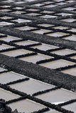 Extraction de sel sur la La Palma Photographie stock