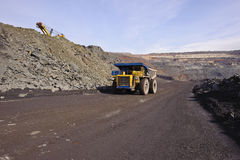 Extraction of iron ore Stock Photography