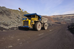 Extraction of iron ore Royalty Free Stock Images