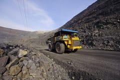 Extraction of iron ore stock photo
