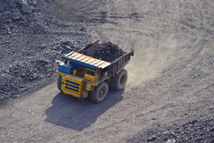 Extraction of iron ore Royalty Free Stock Photography