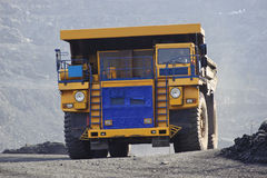 Extraction of iron ore Royalty Free Stock Photo