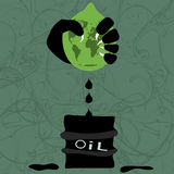 Extraction of oil Stock Images