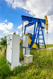 Extraction oil pumps Stock Photo