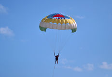 Extraction parachute Royalty Free Stock Photography